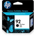 Cartucho HP 92 C9362WL Preto 5ML