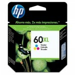 Cartucho HP CC644WL 60XL Color 11ML