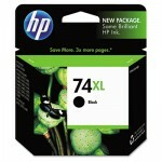 Cartucho HP CB336WL 74XL Preto 12ML