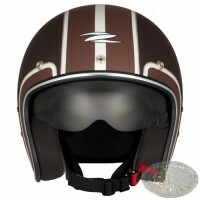 CAPACETE ZEUS 380FA MATT DARK BROWN