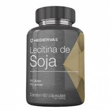 Lecitina de Soja - 60 caps - 1000mg