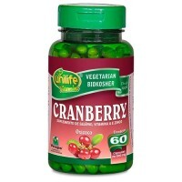 Cranberry 500mg 60 Cápsulas Unilife