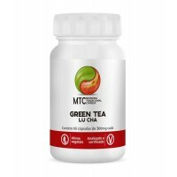 GREEN TEA LU CHA - 60 CÁPSULAS 400MG - VITAFOR
