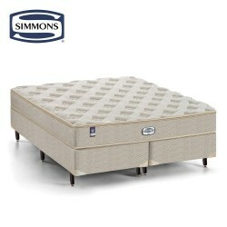 Colchão Molas Ensacadas Simmons Beautyrest Atlanta Top Visco