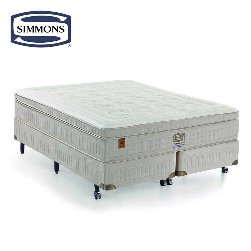 Colchão Molas Ensacadas Simmons Beautyrest Central Park Gel Foam