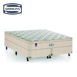 Colchão Molas Ensacadas Simmons Beautyrest Saint Louis Plush