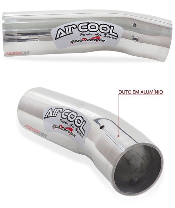 Kit Air Cool Race Chrome Citroen C3 06 a 12 1.4/1.5 8v Duplo