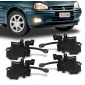 Kit Trava Eletrica Corsa Classic Hatch Wagon 4 Portas