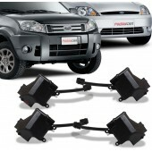 Kit Trava Eletrica Ecosport 2003 A 2012 Fiesta Amazon 4 Portas