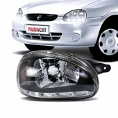Farol com LED Corsa / Pickup / Wagon / Sedan / Hatch / Classic 1994 à 2002