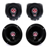 Kit Alto Falantes Foxer Original 6 e 4 Polegadas 200W RMS Fiesta Hatch / Sedan 2006
