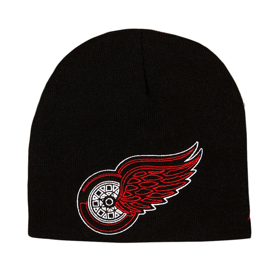 Gorro Zephyr Detroit Red Wings / Preto