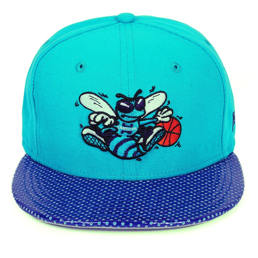 2ad3c0bed Boné New Era Charlotte Hornets 59FIFTY Verde Aba Couro - DEP Store ...