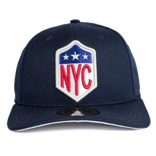 Boné Other Culture Snapback NYC Marinho Aba Curva