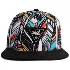 Boné Snapback Hoshwear Feather Preto