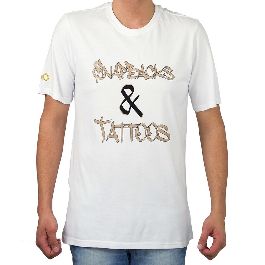 Camiseta Smoke Tattos Branca