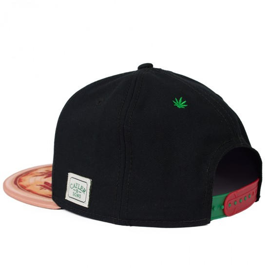 Boné Cayler And Sons Snapback Baked Preto