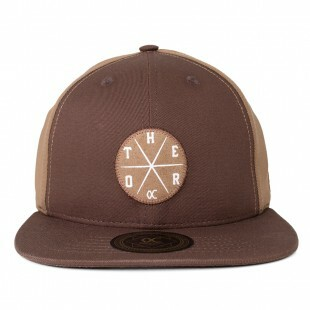 Boné Other Culture Snapback Stripe Marrom