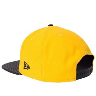 Boné New Era Snapback Pittsburgh Pirates Original Fit Amarelo / Preto