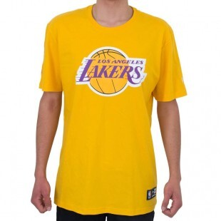 Camiseta New Era Los Angeles Lakers Amarela