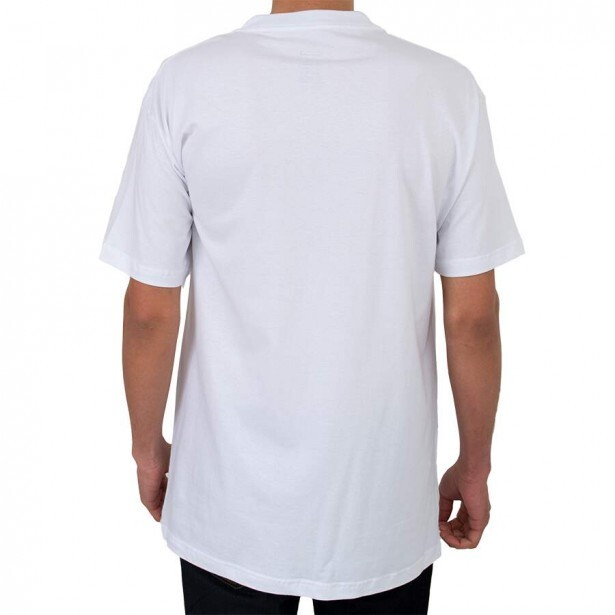 Camiseta Diamond Linear Script Branca