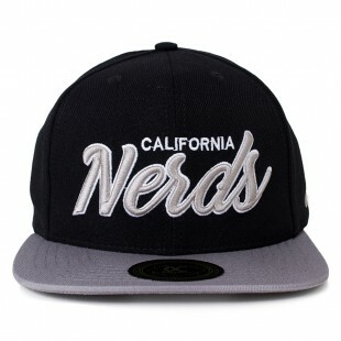 Boné Other Culture Snapback Nerds Preto / Cinza