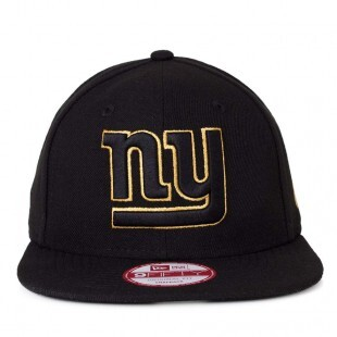 Boné New Era Snapback New York Giants Original Fit Preto