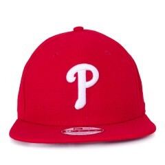 Boné New Era Snapback Philadelphia Phillies Original Fit Vermelho
