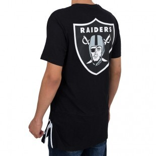 Camiseta New Era Oakland Raiders Preta
