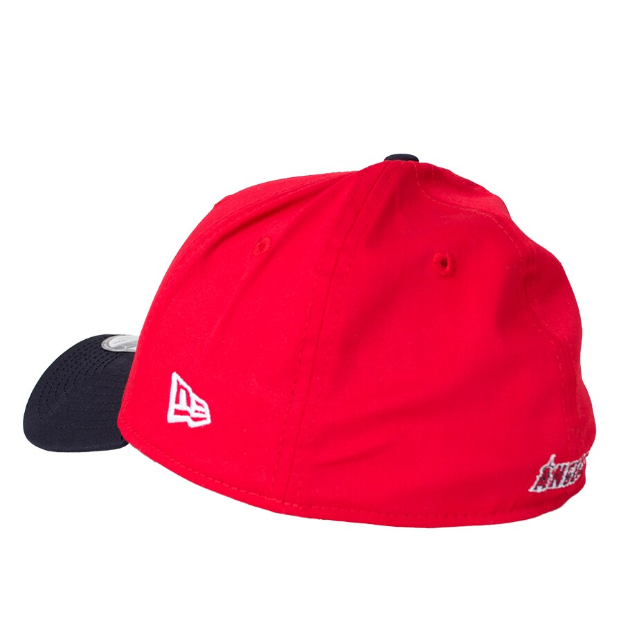 Boné New Era Los Angeles Angels 39Thirty Aba Curva Vermelho / Preto