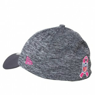 Boné New Era Oakland Raiders 39Thirty Aba Curva Cinza