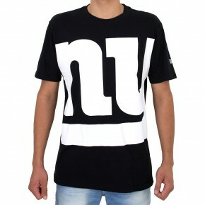 Camiseta New Era New York Giants Preta