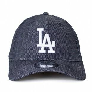 Boné New Era Los Angeles Dodgers 39Thirty Aba Curva Jeans