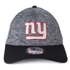 Boné New Era New York Giants 39Thirty Aba Curva Cinza / Preto