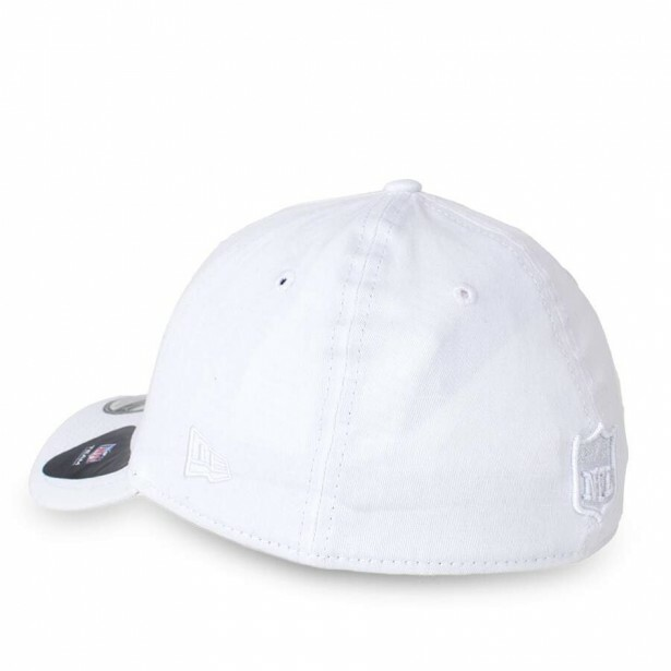 Boné New Era Oakland Raiders 39Thirty Branco