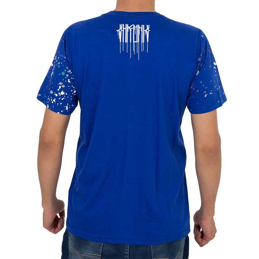 Camiseta Chronic Malandro Azul