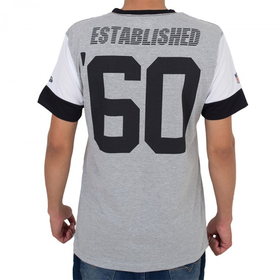 Camiseta New Era Oakland Raiders Mescla