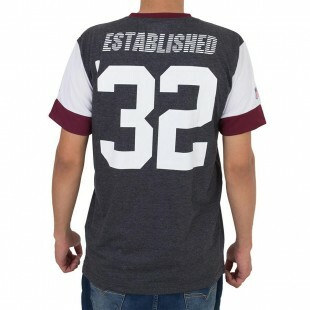Camiseta New Era Washington Redskins Cinza / Bordô
