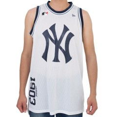 Regata New Era Basketball New York Yankees Branca