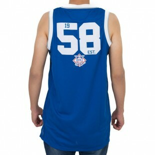 Regata New Era Basketball Los Angeles Dodgers Azul