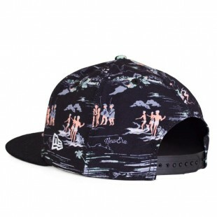 Boné New Era Snapback Crown Path Preto