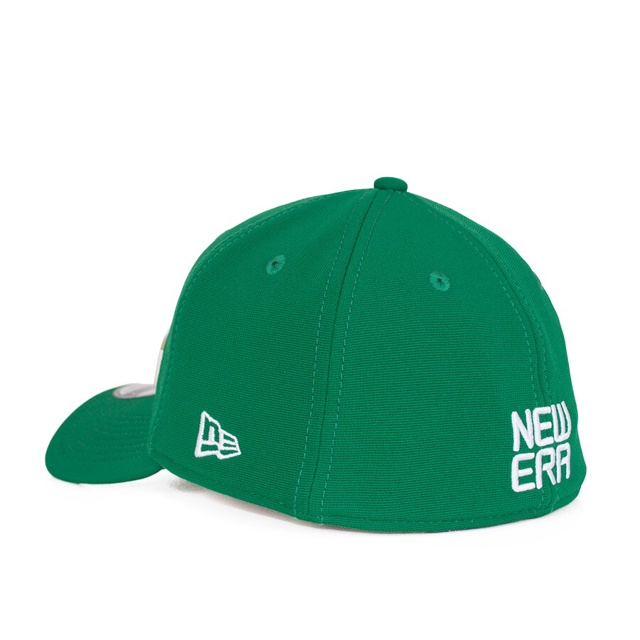 Boné New Era 39Thirty Aba Curva Verde