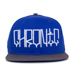 Boné Snapback Chronic West Azul / Cinza