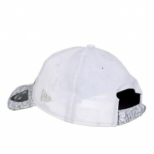 Boné New Era Strapback 9Twenty Metalic Branco