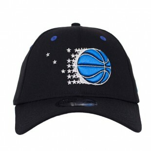 Boné New Era 39Thirty Orlando Magic Aba Curva Preto