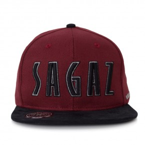 Boné Snapback Chronic Sagaz Bordô