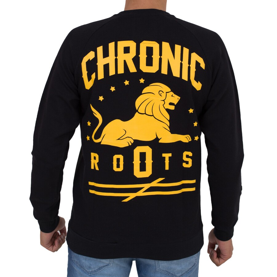 Moletom Chronic Leão Roots Preto
