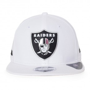 Boné New Era Snapback Oakland Raiders Original Fit Branco