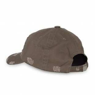 Boné Hater Strapback Mini Logo Destroyed Khaki