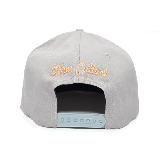 Boné Other Culture Snapback Brooklyn Cinza